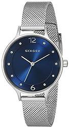 Skagen Anita Analog Blue Dial Womens Watch - SKW2307