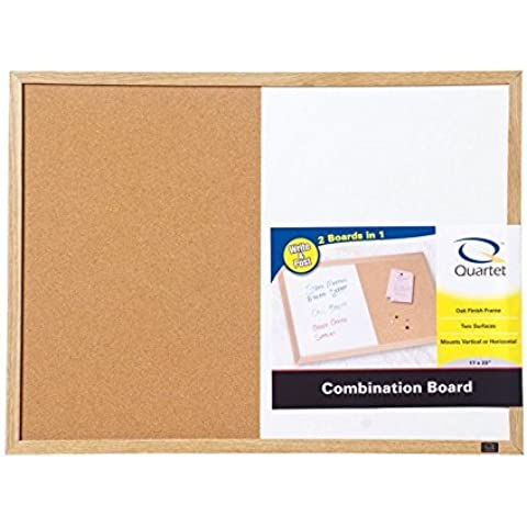 Quartet Dry Erase Bulletin Board Combo 17 In. X 23 In. Wood Frame by ACCO Brands