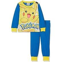 Pokèmon Boys Pikachu Pj, Conjuntos de Pijama para Niños (Pack de 2)