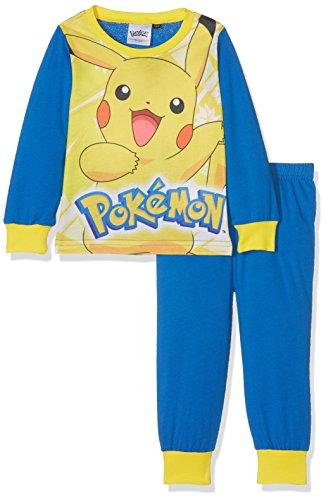 Pokmon-Boys-Pikachu-Pj-Conjuntos-de-Pijama-para-Nios-Pack-de-2