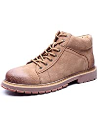 Herren Martin Stiefel Herbst 2018 New Round Toe Lace Up Fashion Tooling  Bootie c8564eb509