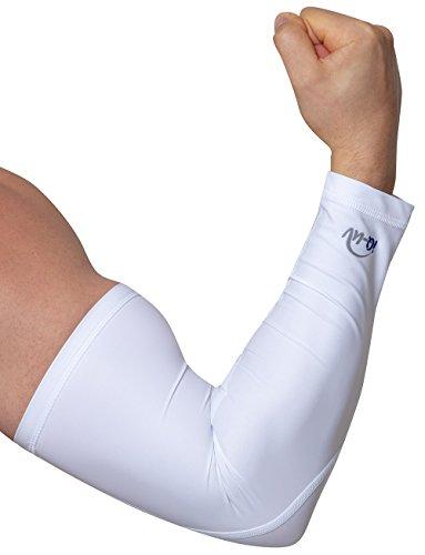 iQ-UV Damen 300 Arm Sleeve, Schutz Armlinge Paar, White, M