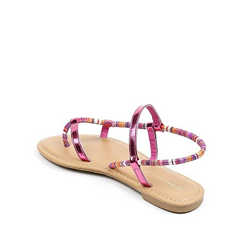 Ideal Shoes ,  Sandali donna Fuchsia