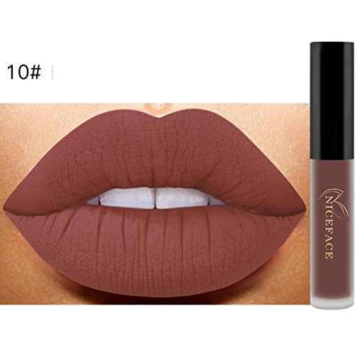 Oyedens Lippenstift/Lipgloss, in matt und glänzend, waserfest, in 12 Tönen 9.8*1.5*1.5 J