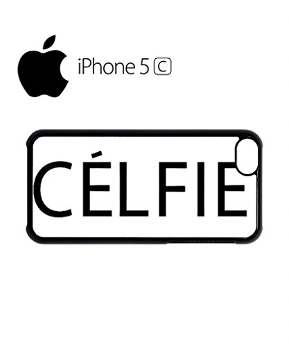 Celfie Selfie Tumblr Meow Mobile Cell Phone Case Cover iPhone 5c Black Schwarz