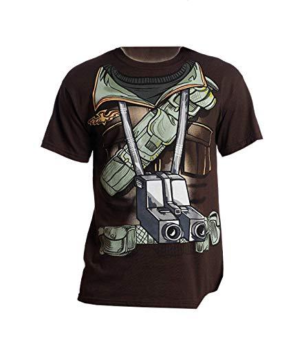 G.I. Joe Duke Suit Costume Brown T-Shirt   -