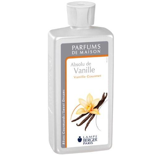 Lampe Berger 115017 Fragranza Vanilla Gourmet, Liquido, Argento, 7.8 x 5 x 18.5 cm, 19 unità