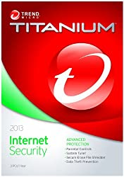 Trend Micro Titanium Internet Security - 3 User, (CD)