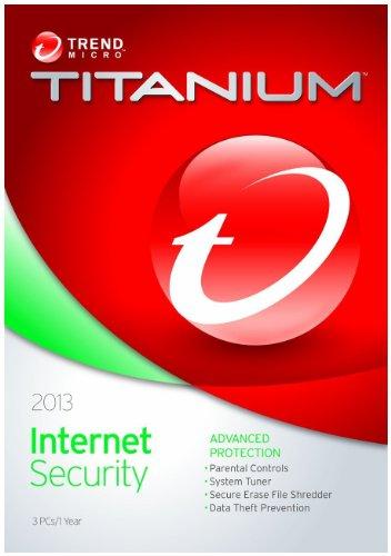 Trend Micro Titanium Internet Security - 3 User, (CD)