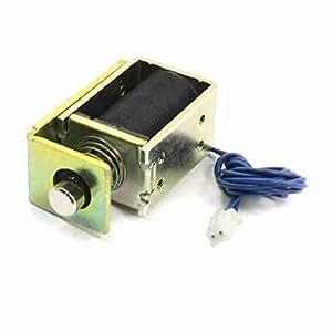 TTcity 6V 7mm 20DO sont recouverts 0.9W Type de 0.15A solénoïde à traction électrique pour verrouillage de porte