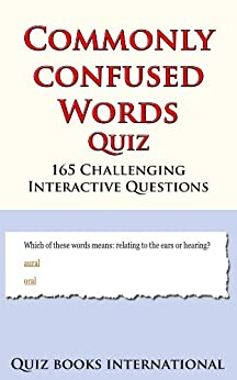 Commonly Confused Words Quiz (English Edition) par [Quiz Books International]
