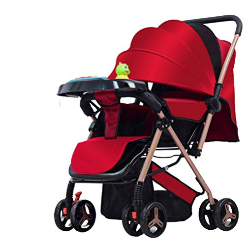 Gpzj Silla Paseo Ligera Plegable Compacta, Besrey Cochecito Plegable Silla Paseo Ligera para Bebe/niños...