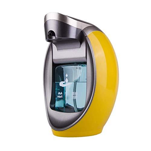 Automatisch Seifenspender Berührungslos mit Sensor/Arbeitsplatten/Wand Selbst gemachter Schaum Berittenes Shampoo/Geschirrspülmittel/Lotion 480ML (Color : Orange) ()