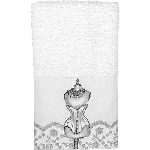 Mathilde M-Romantische Stil Französisch Pariser Servietten aus Baumwolle, Baumwolle, Boudoir, Face Towel 30 x 50 cm - Französisch Boudoir