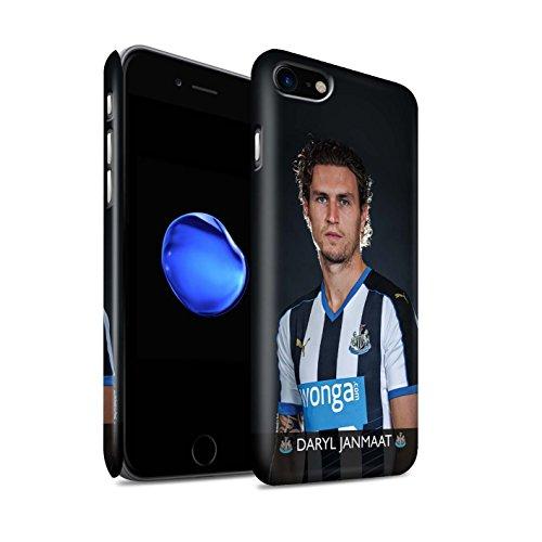 Officiel Newcastle United FC Coque / Clipser Matte Etui pour Apple iPhone 7 / Mbemba Design / NUFC Joueur Football 15/16 Collection Janmaat