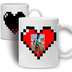 La taza del Negro del Whatsapp - Taza Mágica (sin censura) - Taza graciosa para hacer un regalo original y divertido - Tazas desayuno originales