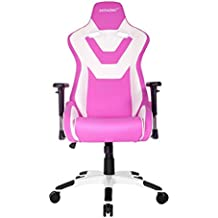 AK Racing Silla para Gaming, Rosa y Blanco
