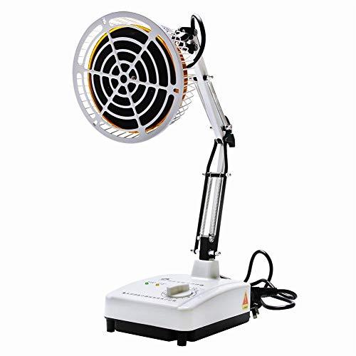DULANP GYX@ TDP Calor Schreibtisch Elektromagnetische Lampe Mineral Platte Physiotherapie Therapie Gerät Schmerztherapie Runde Zeit einstellbar 230 W -