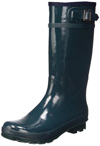 Superga 792 Regen Stiefel Neu Frauen Schuhe Bottle Green