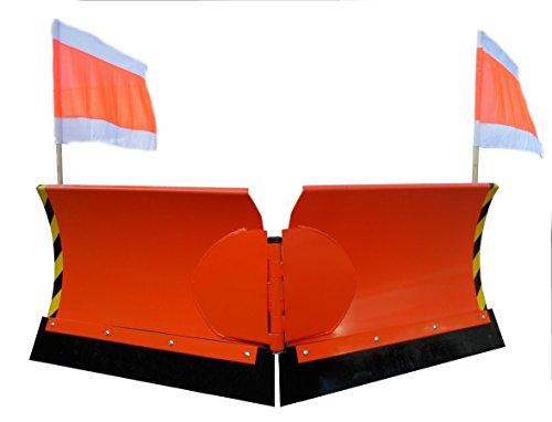 Gabelstapler Vario Schneeschild V 125 cm hydraulisch Schneeschieber Winterdienst