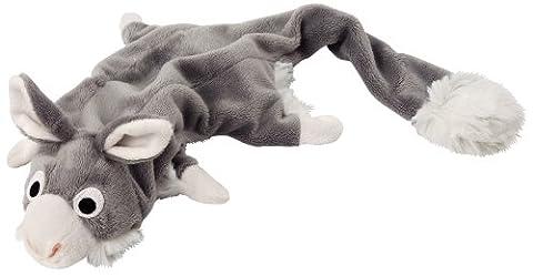 Lunettes en peluche Skinny ou affaires avec gourde, jouet pour chien