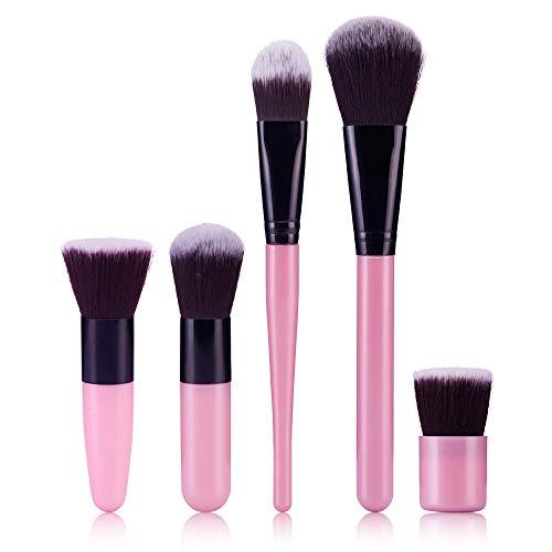 PorLous 2019 Neue 5 Stücke Frauen Komfortable Make-up Pinsel Foundation Creme Lidschatten Eyeliner Lippen Make-up Pinsel Profi Werkzeug