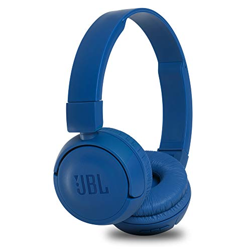 JBL T460BT Extra Bass Wireless On-Ear Headphones with Mic (Blue)