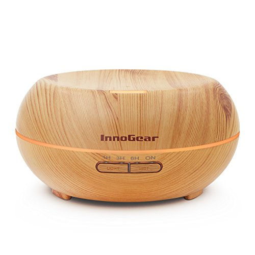 innogear-200ml-essential-oil-diffuser-ultrasonic-aromatherapy-diffusers-home-humidifier-with-7-color