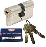 ABUS EC660 Profil-Doppelzylinder Länge (a/b) 30/30mm (c=60mm) mit 3 Schlüssel, mit Sicherungskarte