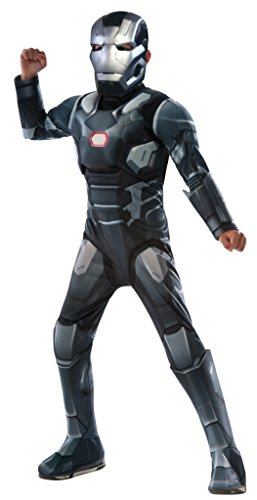 Deluxe War Machine - Captain America Civil War - Kinder Kostüm - Klein - 117cm - Alter (Captain America Für Kinder Outfit)