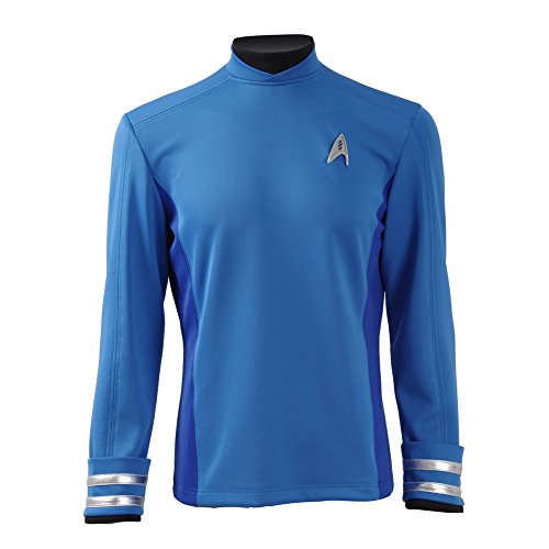 CosDaddy ® Star Trek Beyond Spock Hemd Uniform Cosplay Kostüm US Size (XXL)