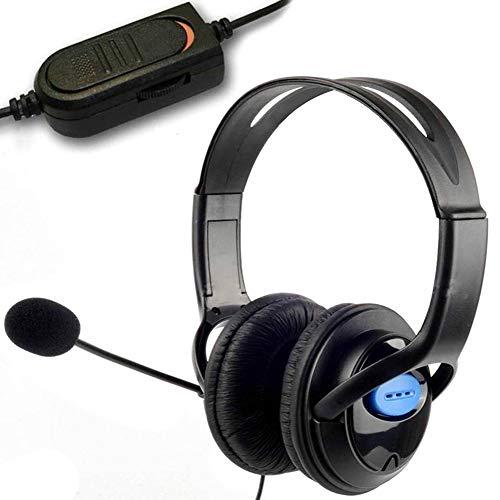 ZKxl8ca Kopfhörer für Sony Playstation 4, 3,5 mm Sony Wireless-hi-fi