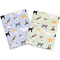 Set of 2 - BEST IN SHOW - Cat A6 Notebooks - Lined Paper