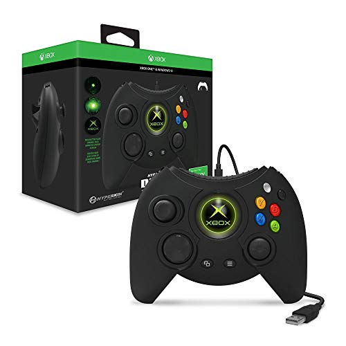 Hyperkin Duke Controller für Xbox One / Windows 10, Schwarz