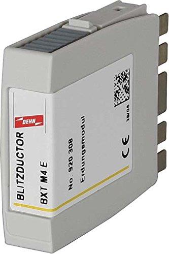 Dehn+Söhne Erdungs-Modul BXT M4 E f. Blitzductor XT Zubehör für Überspannungsschutz Informations-/MSR-Technik 4013364109209