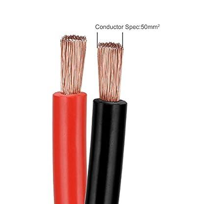 Voilamart – Cable de Arranque para batería de Coche de 3000 A y 6 m (Incluye Bolsa de Transporte con Cremallera y asa)