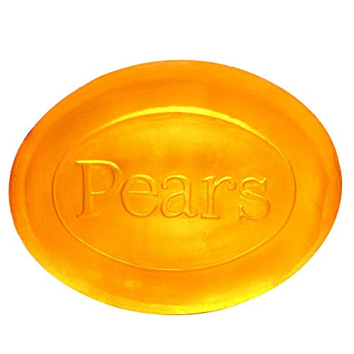 Pears Transparent Amber Soap 125 g (Pack of 12) by EH Booth & Co Ltd