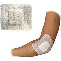 5x steropore 9.0cm x 10.0cm Premium Medical Grade 100% Steril groß Wunde Schnitt Verbrennungen Pflaster Weiß preisvergleich bei billige-tabletten.eu
