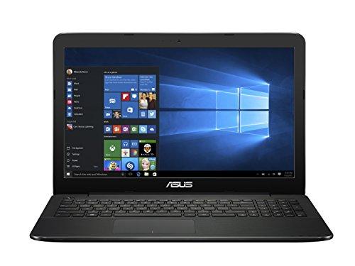 "ASUS F555YA-XX038T - Portátil de 15.6"" (AMD E1 - 7010, 4 GB de RAM, Disco duro de 500 GB, tarjeta grafica integrada, Windows 10) negro con textura punto - teclado QWERTY Español"