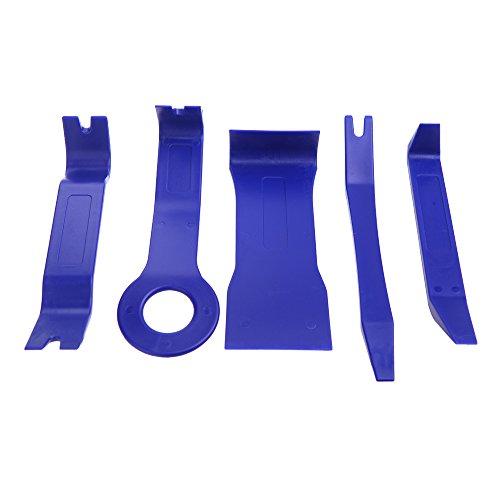 EverTrust (TM) auto Kit per la riparazione Smontare riparazione Dash Radio Porta clip pannello Trim Removal Tool Set Kit in plastica 5pcs Strumento Kit