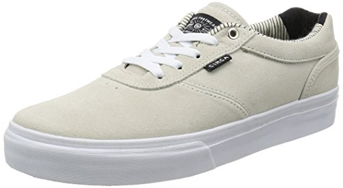 C1RCA Gravette Durable Cushioned Skate Shoe white