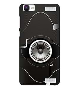 EPICCASE Boom Blaster Mobile Back Case Cover For Vivo V1 Max (Designer Case)