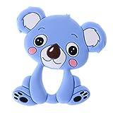 exing bebé Mordedor silicona nette Koala infantil Enfermedades juguete Collar recién nacidos kauen Cuidado azul azul