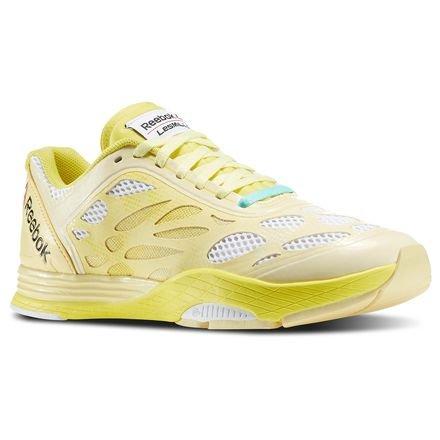 REEBOK M47975 LM CARDIO ULTRA W DONNA sneakers scarpe ginnastica giallo (eu 35.5)