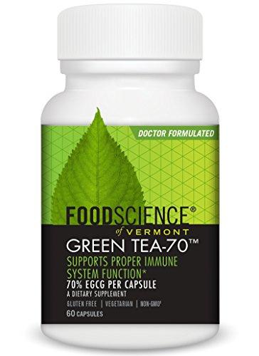 chaft von Vermont Grün tea-70Kapseln, 60Zählen ()