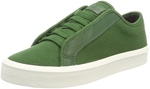 G-STAR RAW Strett Low Sneaker Uomo, Bianco (Deep Nuri Green 8887) 44 EU