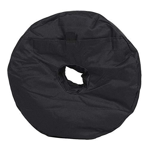 Ss Base (Neufday Umbrella Base Weight Sand Bag zur Verankerung von Patio Offset Cantilever Umbrellas Fahnenmast Round Black)