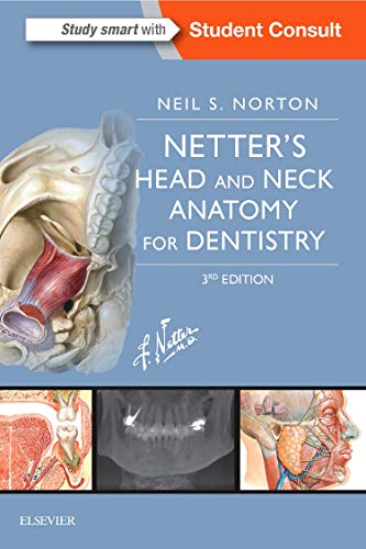 Netter's Head and Neck Anatomy for Dentistry, 3e (Netter Basic Science) por Neil S. Norton PhD