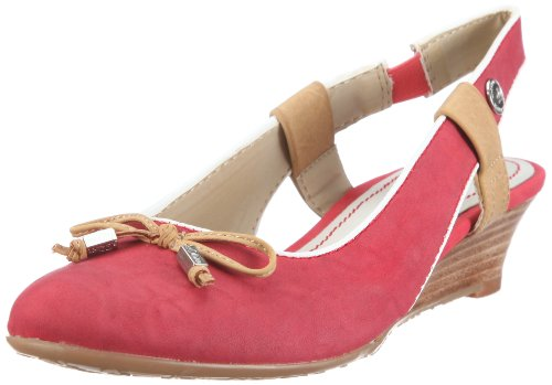 s.Oliver Casual 5-5-29503-38, Damen Sandalen/Fashion-Sandalen, Rot (Red 500), EU 39