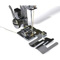 Pie prensatelas profesional y multifunción Youmu, para máquina de coser, para telas, cordón